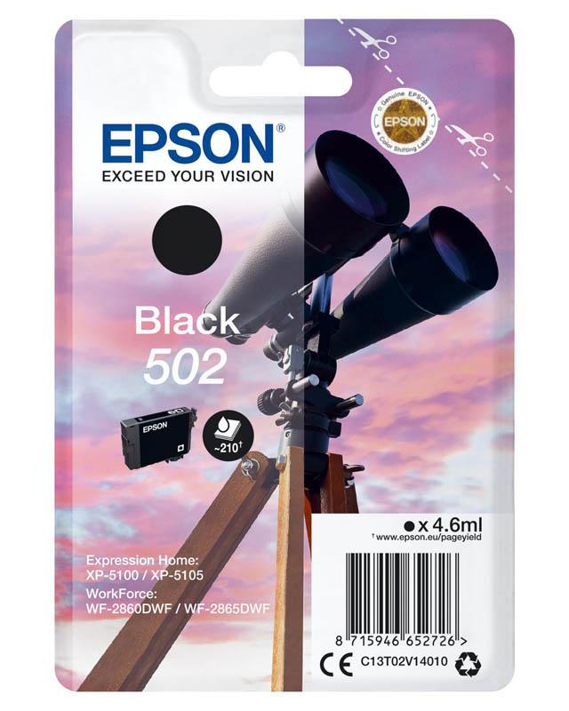 Cartouche EPSON 50 Jumelles Noir (photo)