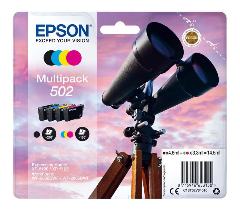 Multipack EPSON NCMJ502 Jumelles (photo)