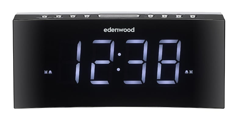 Radio-réveil Edenwood Jumbo Curved (photo)