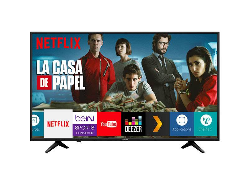 TV UHD 4K HISENSE H50A6140 Smart Wifi (photo)