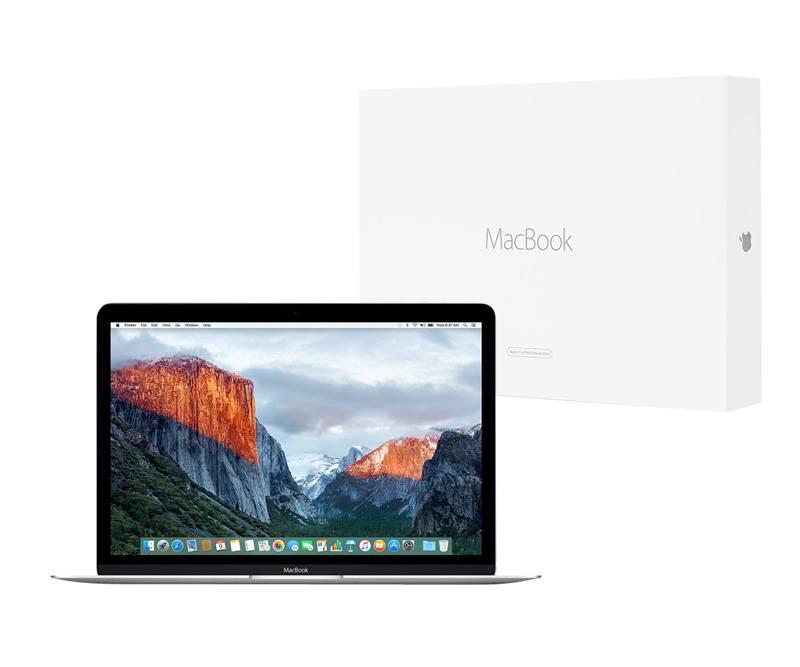 APPLE Macbook 12 silver 2016 reconditionne par APPLE M5 / 8 go / 512 go SSD (photo)