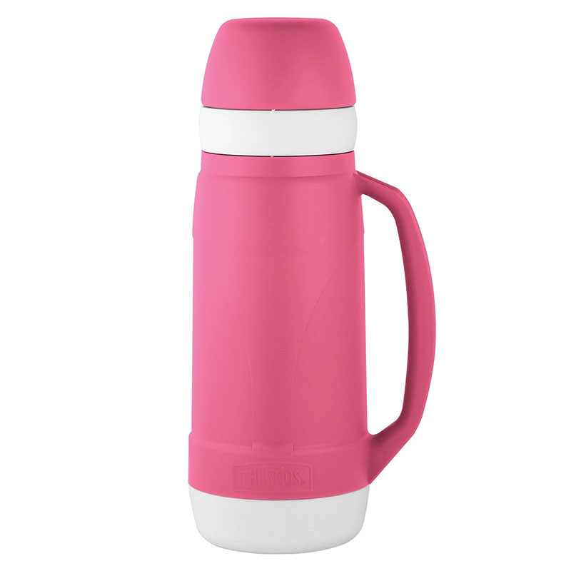 Bouteille isotherme 1.8L THERMOS ROSE (photo)