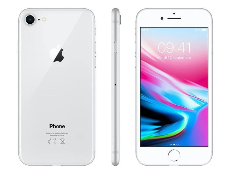 APPLE Iphone 8 64 Go Silver RECONDITIONNÉ GRADE A+ (photo)