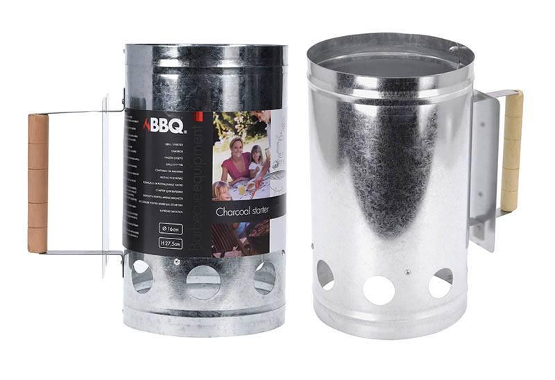 Accessoire cheminee d'allumage pour barbecue (photo)