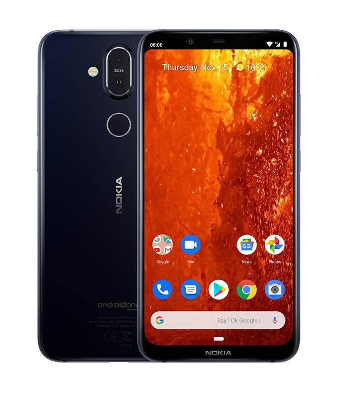 Smartphone NOKIA 8.1 Bleu Silver (photo)