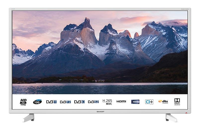 TV SHARP LC-40FI3222EW FHD Blanc (photo)