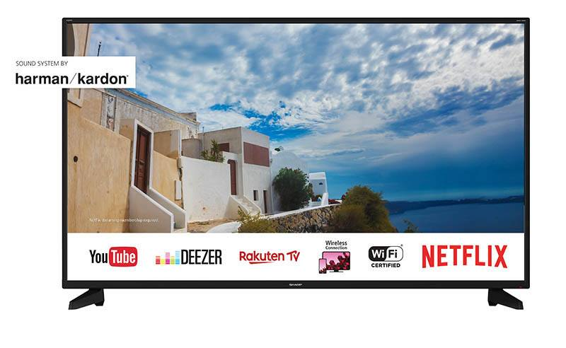 TV UHD 4K SHARP LC-50UI7222E Smart Wifi (photo)