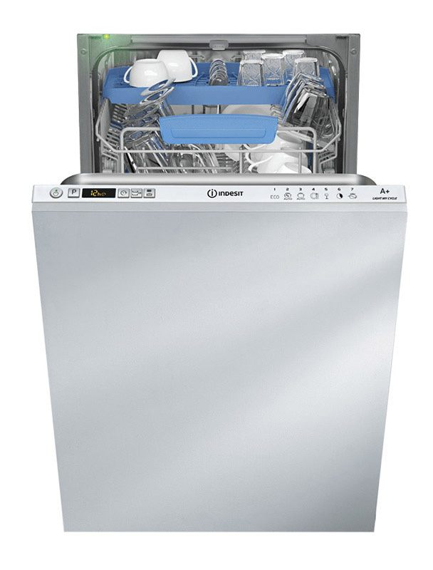 Lave-vaisselle 45 cm semi-integrable INDESIT DISR 57M17 CAL EU (photo)
