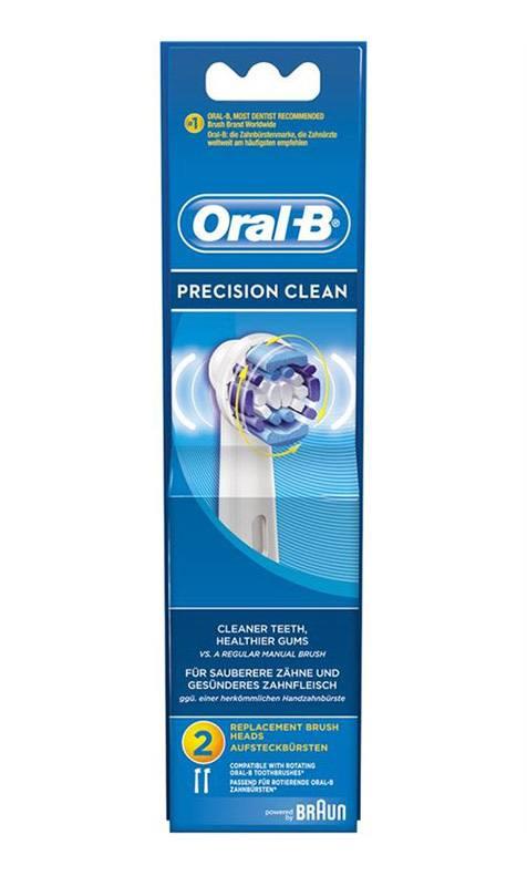Brossette ORAL-B PRECISION CLEAN X2 EB20 (photo)