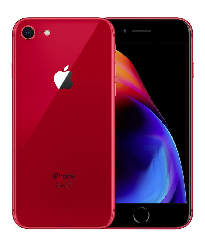 APPLE IPHONE 8 64 GO RED RECONDITIONNÉ GRADE A+ (photo)