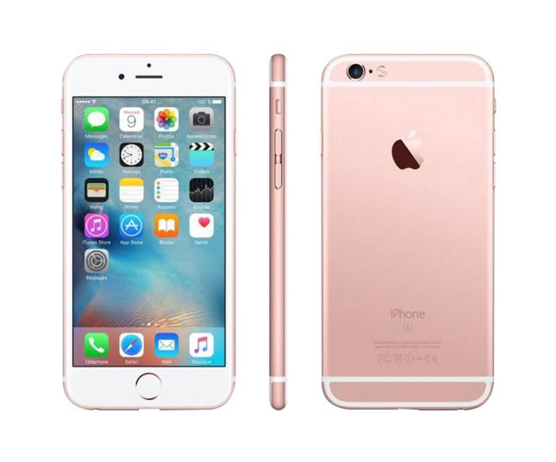 Apple Iphone 6s 64 Go Pink Gold Reconditionné Grade A+ (photo)