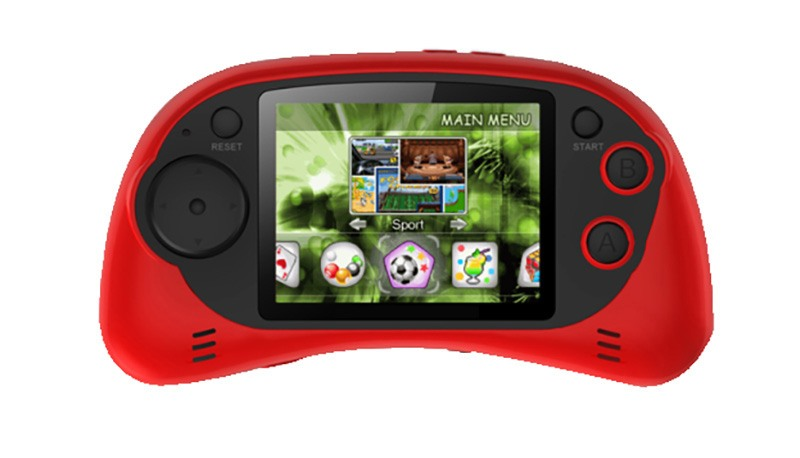Console portable 2.6 200 jeux G.GEAR TFT HG2702C Rouge (photo)