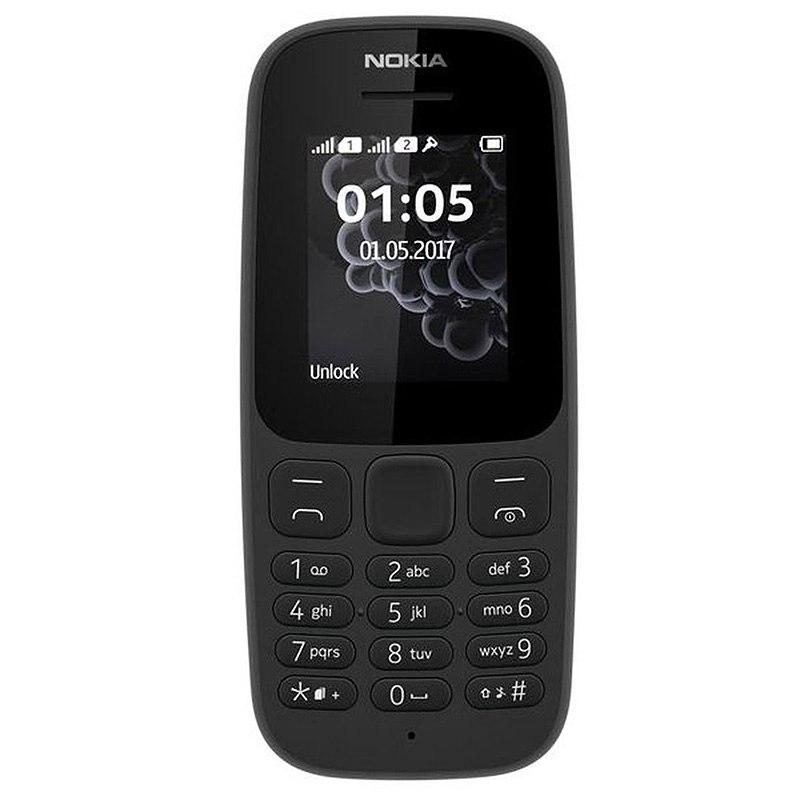 Mobile NOKIA 105 DS noir (photo)