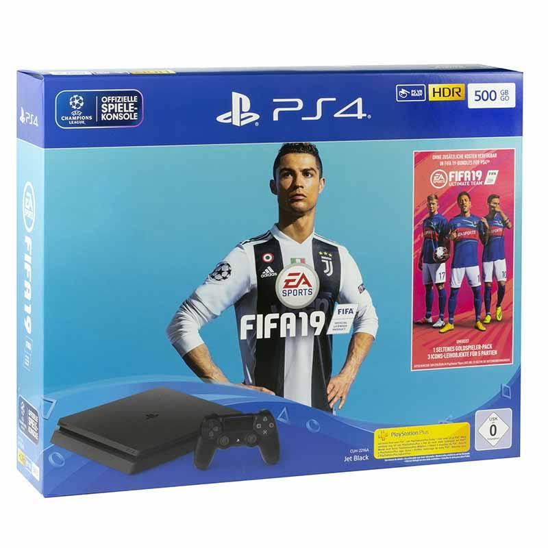 Console de Jeux SONY PS4 Slim 500 Go FIFA 19 (photo)