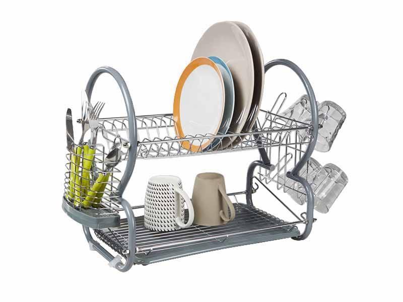 EGOUTTOIR à vaisselle 2 niveaux (photo)