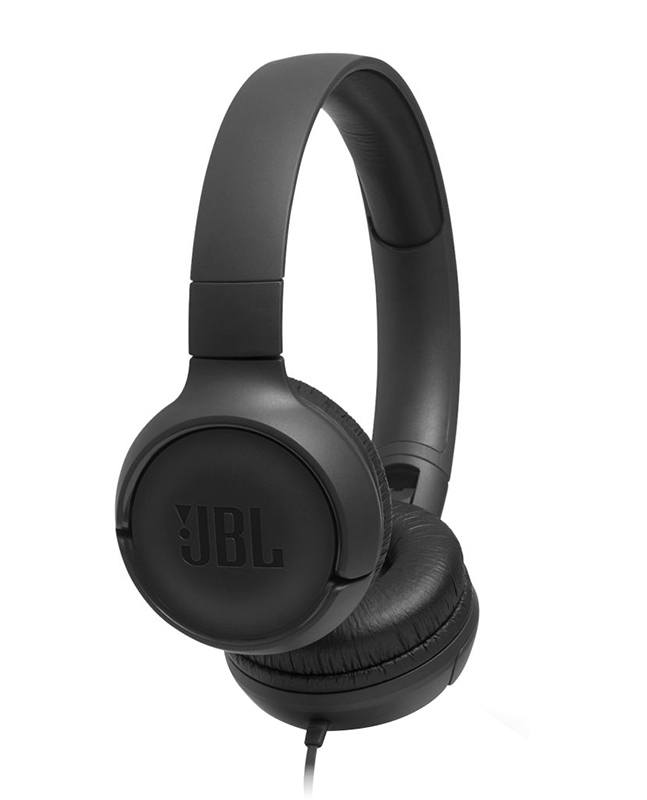 Casque JBL T500 noir (photo)