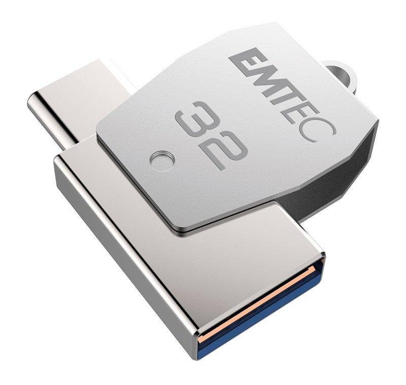 Cle USB EMTEC USB 3.1 Type-C 32 Go (photo)