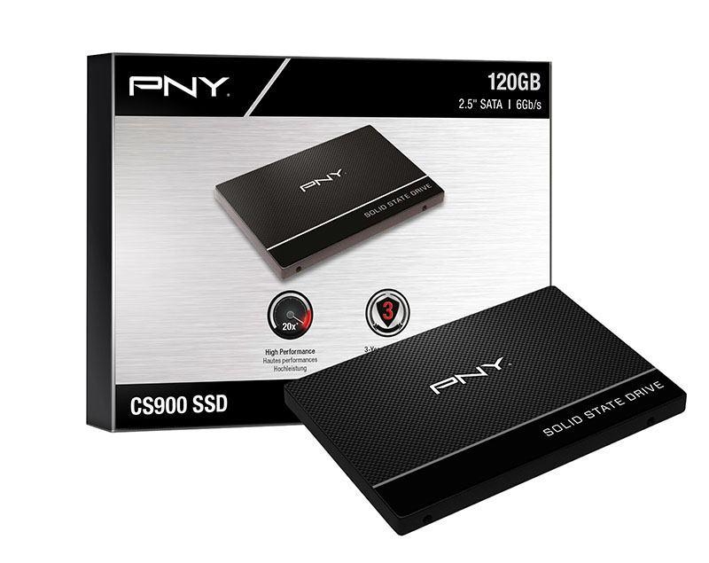 Disque dur interne 2,5 SSD PNY 120 Go CS 900 (photo)