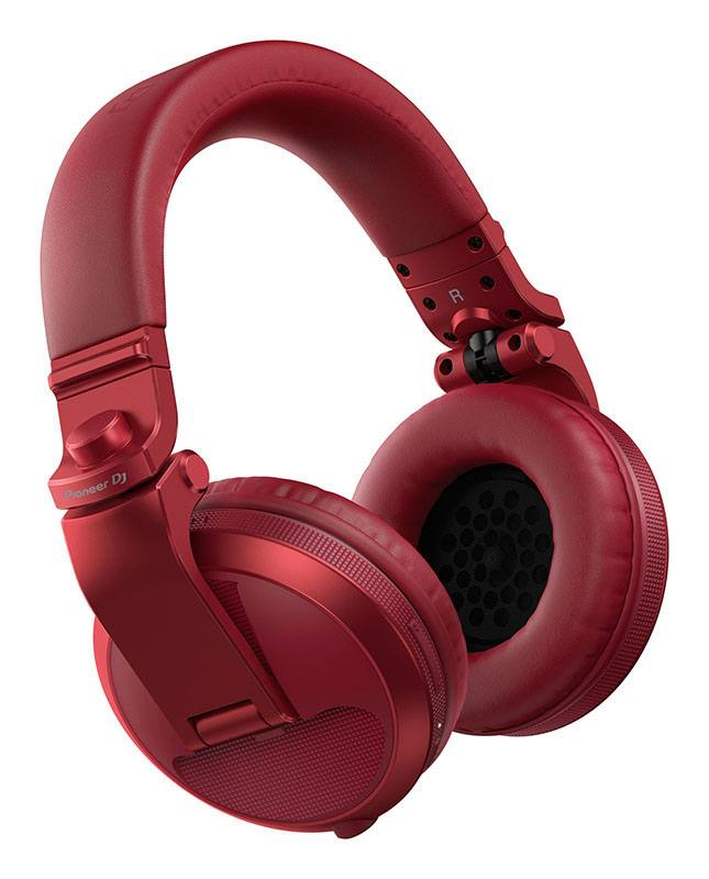 Casque PIONEER DJ HDJ-X5BT-R RED (photo)