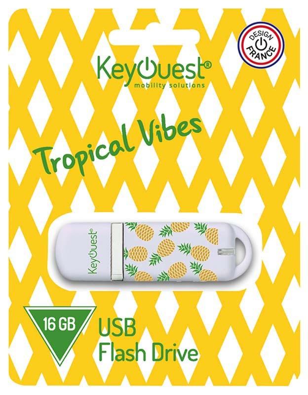 Cle USB KEYOUEST 16 Go ANANAS (photo)