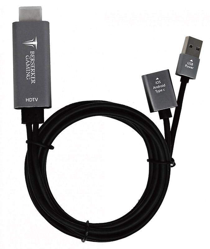 Câble MHL Smartphone vers HDMI (photo)