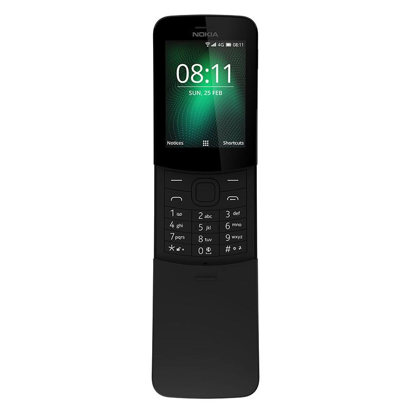 MOBILE NOKIA 8110 4G NOIR (photo)