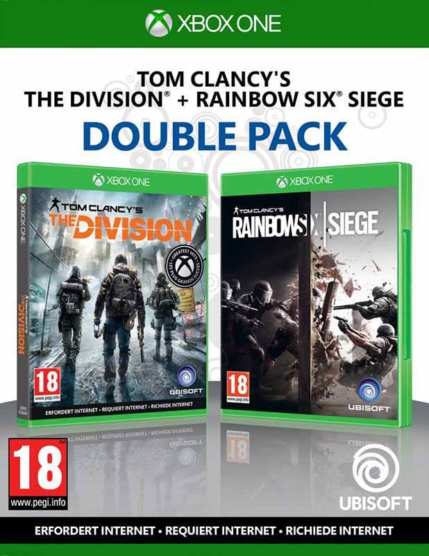 Jeu video UBISOFT COMPILATION RAINBOW SIEGE +THE DIVISION (photo)