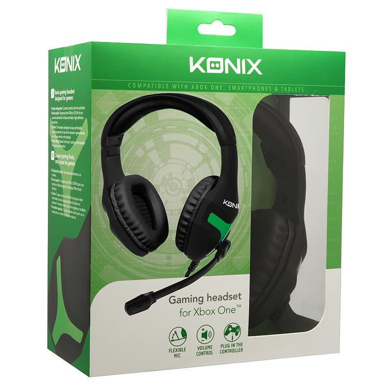 Casque gaming KONIX MS-400 XBOX ONE (photo)