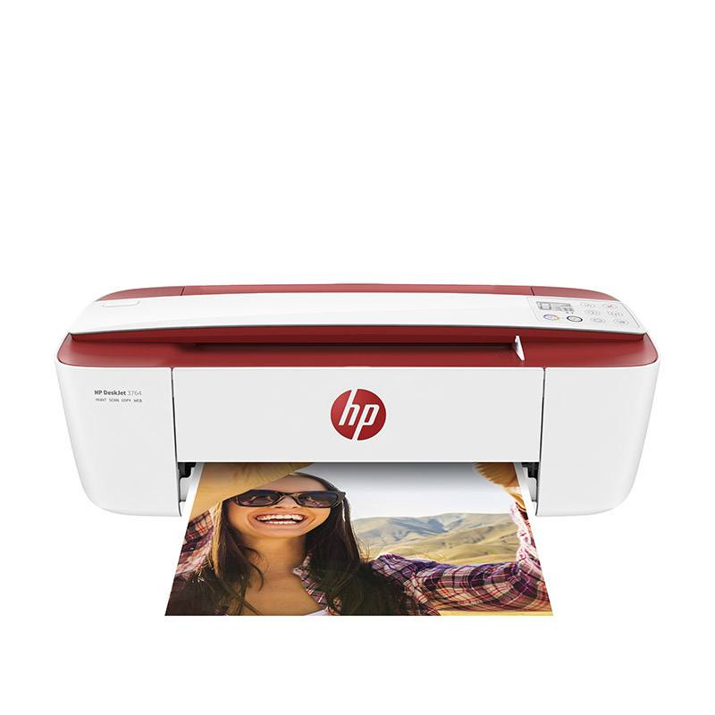 Imprimante multifonction HP DeskJet 3764 + 1 an instant ink inclus (photo)