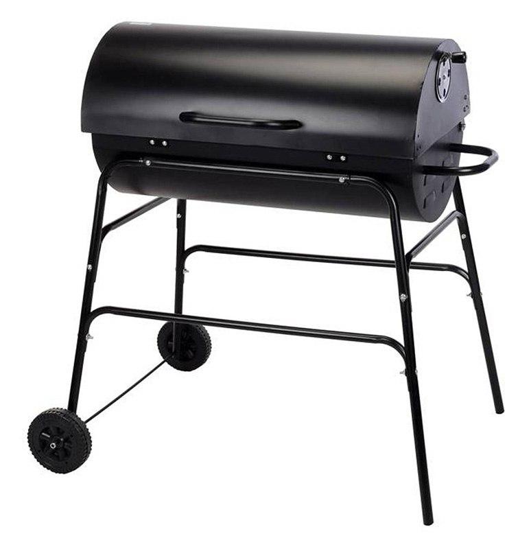 Barbecue charbon tonneau (photo)