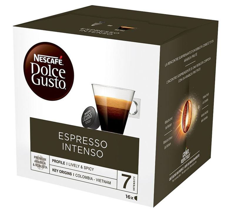 Dosettes cafe DOLCE GUSTO EXPRESSO INTENSO (photo)