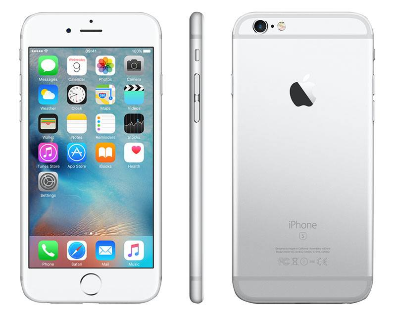 APPLE iPhone 6s 16 Go silver reconditionne grade A+ (photo)