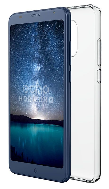 Coque en TPU pour smartphone ECHO Horizon M transparente (photo)