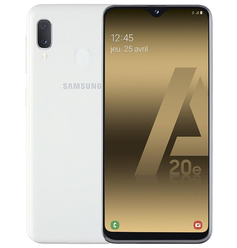 SMARTPHONE SAMSUNG A20e 32 Go Blanc (photo)