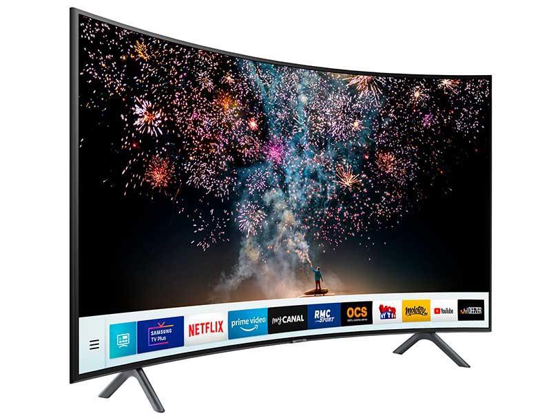 TV 4K SAMSUNG UE49RU7305 Incurve Smart (photo)