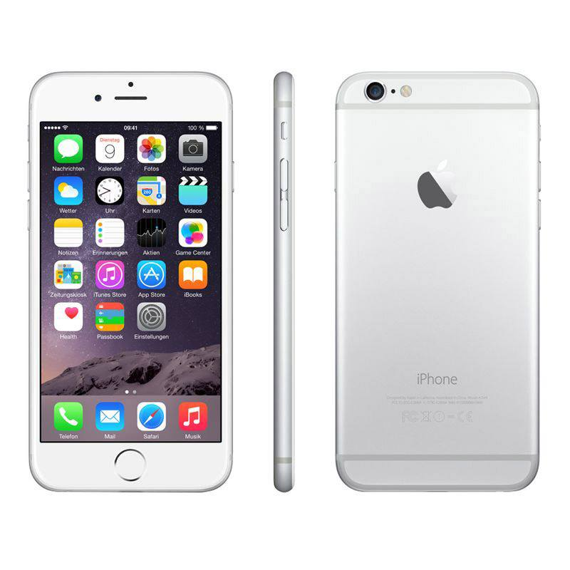 APPLE IPHONE 6+ 16 GO SILVER RECONDITIONNÉ GRADE A+ (photo)