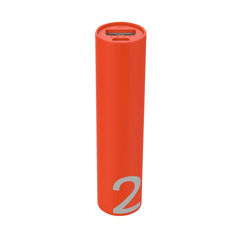 Batterie de secours EDENWOOD 2000 mAh corail (photo)