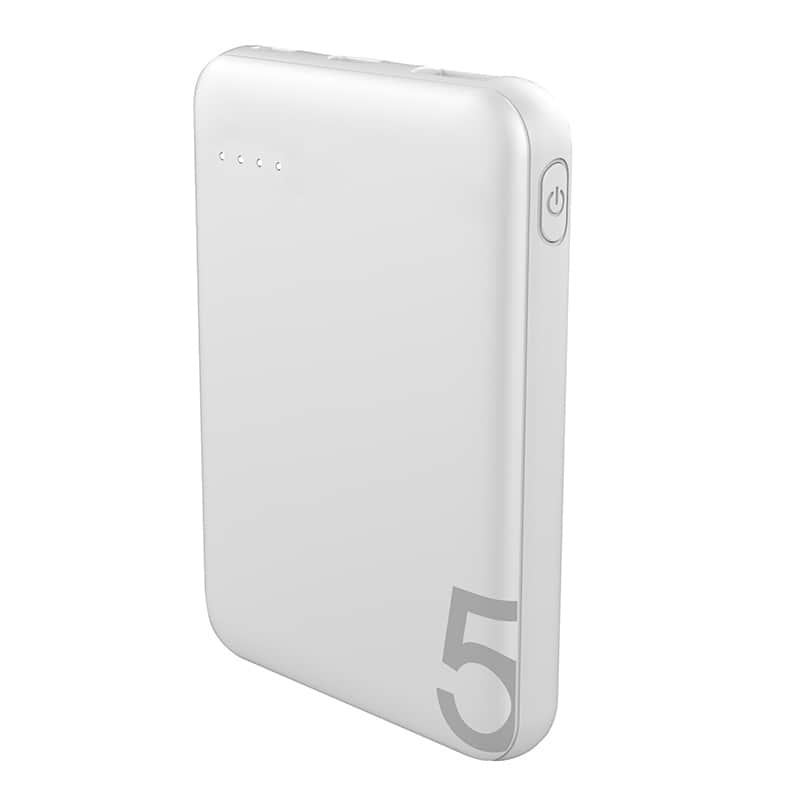 Batterie de secours EDENWOOD 5000 mAh blanc (photo)