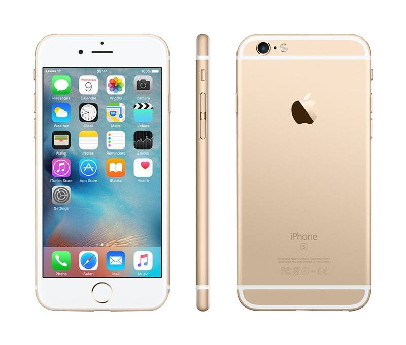 APPLE IPHONE 6S 64 GO GOLD RECONDITIONNÉ GRADE A+ (photo)