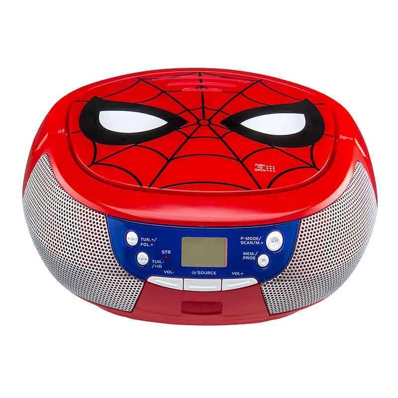 Lecteur Cd Boombox Cd Spider Man (photo)