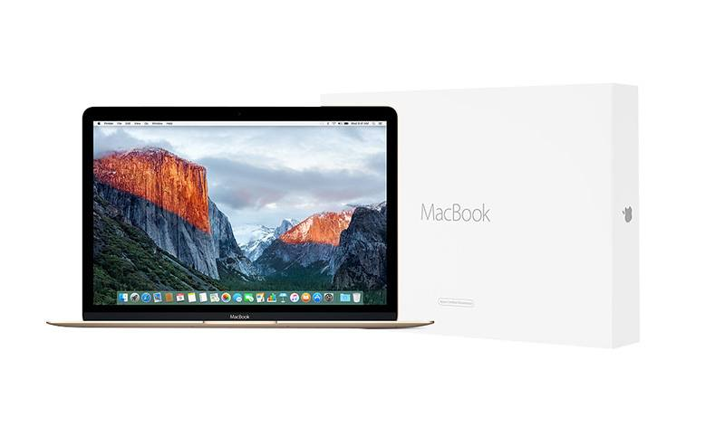 APPLE Macbook 12 gold reconditionne par APPLE (CPO) M-5Y51 / 8 Go DDR3 / 512 Go SSD G0RX0F/A (photo)