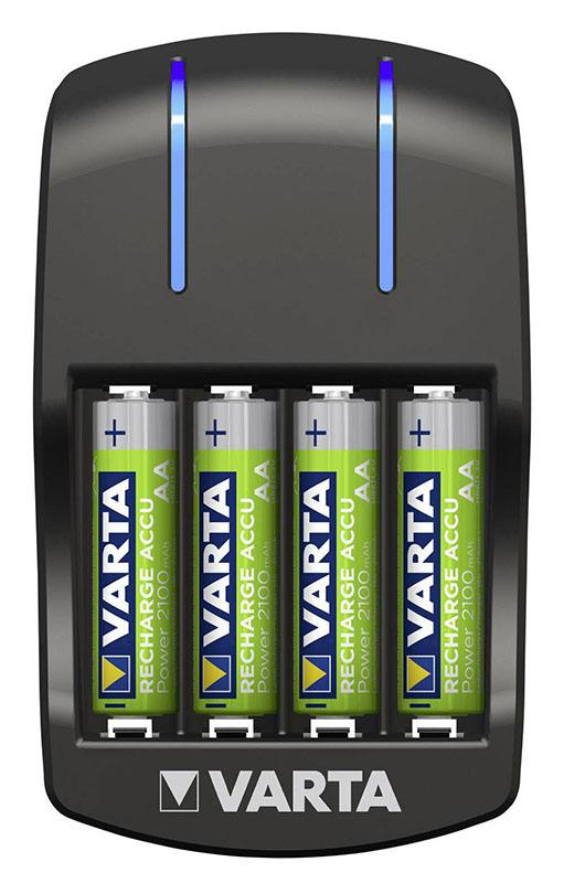 Chargeur VARTA + 4 AA 2100 mAh (photo)