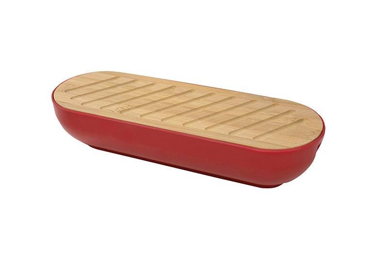 Boîte à pain en fibre de bambou (photo)