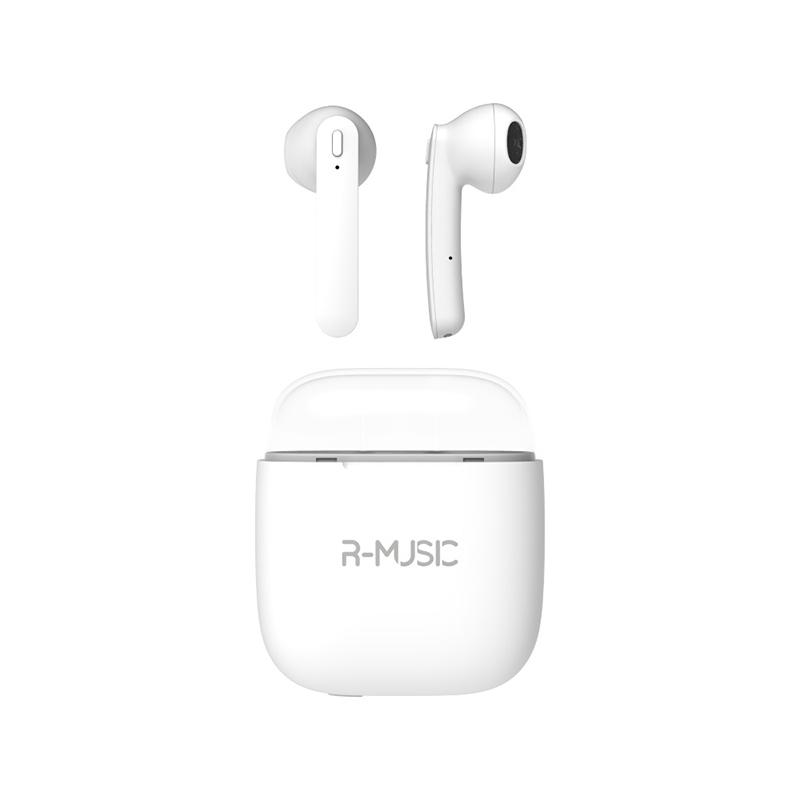 Ecouteurs Bluetooth R-MUSIC RM483683 Blanc TWS (photo)
