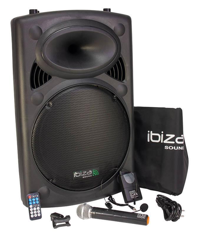 Enceinte Ibiza Port15vhf Bluetooth