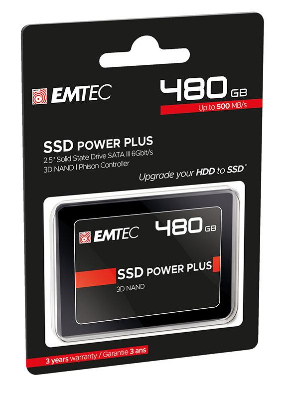 DISQUE DUR INTERNE 480GO SSD 2,5 EMTEC X150 (photo)