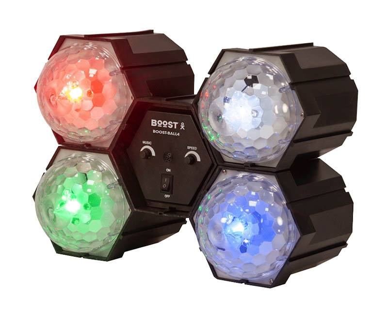 Spots BOOST 4-LED LIGHT CRYSTAL (photo)
