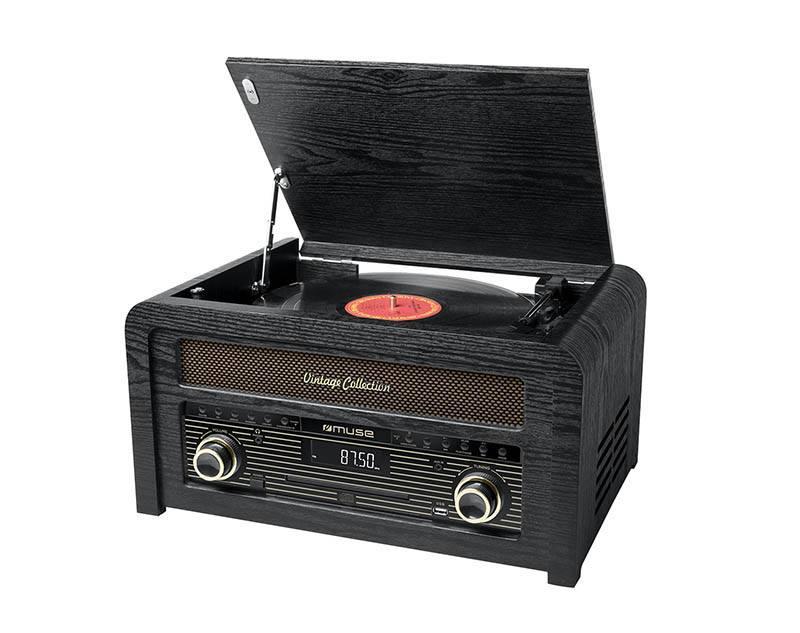 Micro-chaîne Muse Vinyle Mt-115
