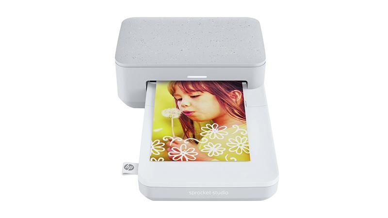 Imprimante Photo 10x15cm HP Sprocket Studio Grise