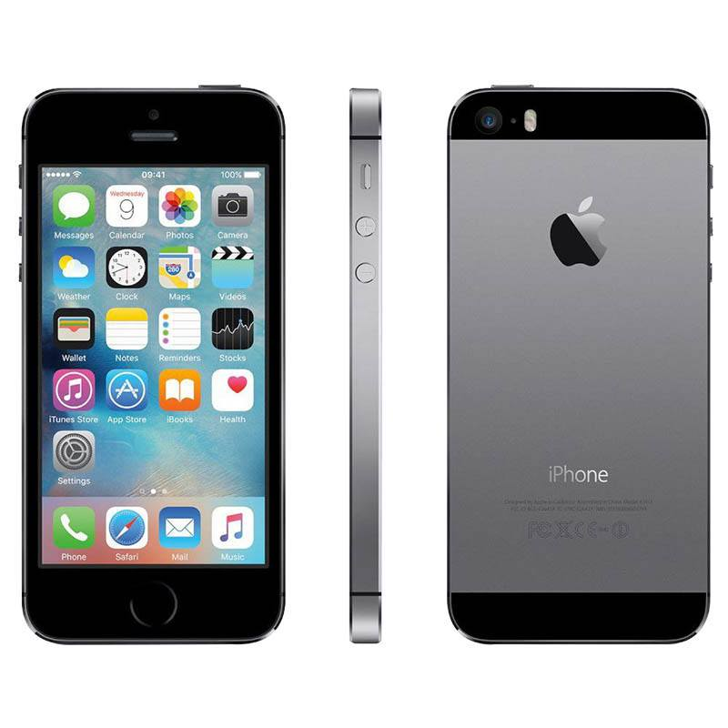APPLE IPHONE 5S 32 GO GRIS SIDERAL RECONDITIONNÉ GRADE A+ (photo)